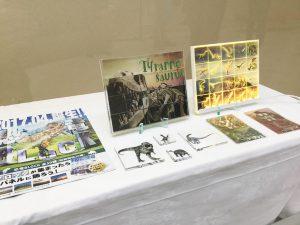 ギャラリー展示 恐竜ブロック 恐竜パネル